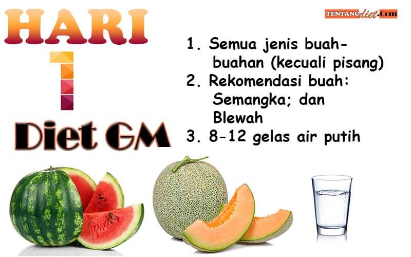 Diet GM Hari 1