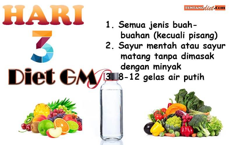 Diet GM Hari 3