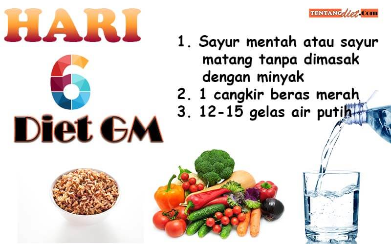 Diet GM Hari 6