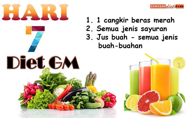 Diet GM Hari 7