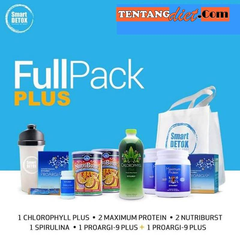 Detoksifikasi Smart Detox - FullPack Plus