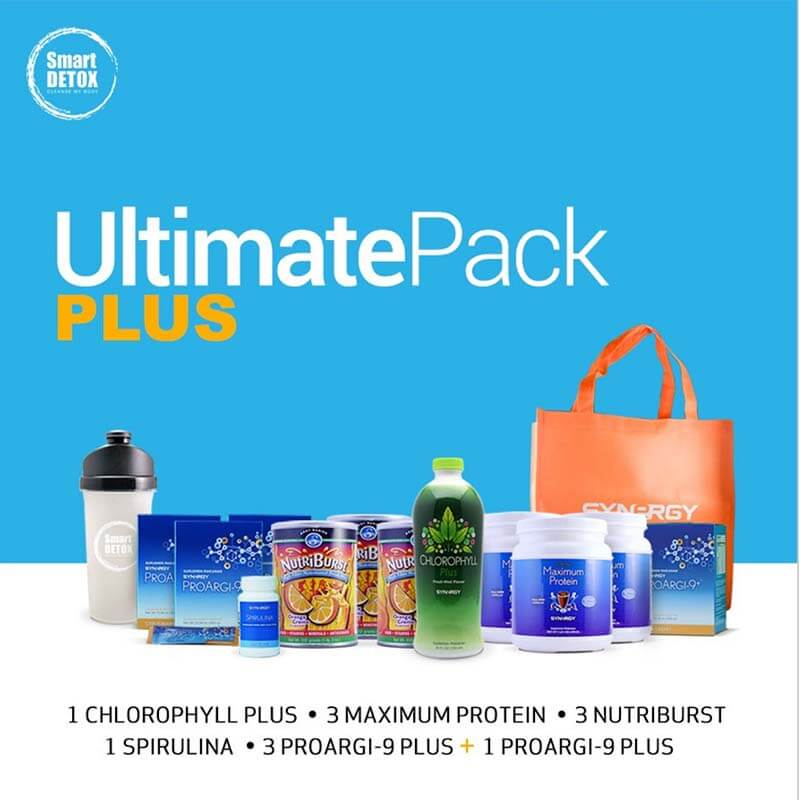Detoksifikasi Smart Detox - UltimatePack Plus